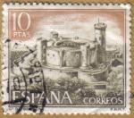 Stamps Spain -  Castillos de España - Bellver en Mallorca