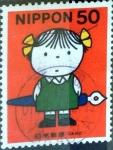 Sellos del Mundo : Asia : Japón : Scott#2738 nfb intercambio, 0,35 usd, 50 y. 2000