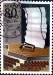 sellos de Asia - Japón -  Scott#3384b intercambio, 0,90 usd, 80 y. 2011