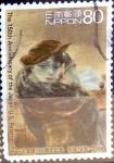 Stamps Japan -  Scott#2902 intercambio, 1,10 usd, 80 y. 2004