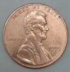 monedas de America - Estados Unidos -  1995 - D one cent