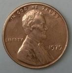 monedas de America - Estados Unidos -  1979 one cent