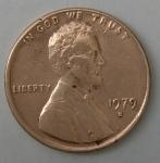 monedas de America - Estados Unidos -  1979 D one cent
