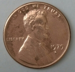 monedas del Mundo : America : Estados_Unidos :  1979 - D one cent