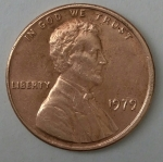 monedas del Mundo : America : Estados_Unidos :  1979 one cent