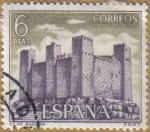 Sellos de Europa - España -  Castillos de España - Sadaba en Zaragoza