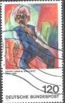 Sellos de Europa - Alemania -  Pinturas contemporáneas,de Ernst Ludwig Kirchner.