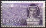 Sellos de Europa - España -  ESPAÑA 1968 1866 Sello Serie Personajes Maria Pacheco Usado