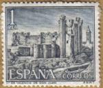 Stamps Spain -  Castillos de España - Valencia de D. Juan en LEON