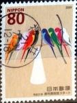 Stamps Japan -  Scott#3117 intercambio, 0,60 usd, 80 y. 2009