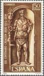 Sellos de Europa - España -  ESPAÑA 1968 1872 Sello Nuevo Centenario Legio Gemina León Estela Pintayus