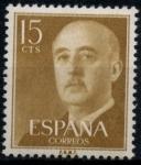 Stamps Spain -  ESPAÑA_SCOTT 816.01 GEN. FRANCO. $0,2