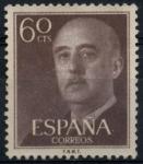 Stamps Spain -  ESPAÑA_SCOTT 822.04 GEN. FRANCO. $0,2