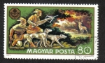 Stamps Hungary -  Pesca y Caza