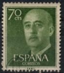 Stamps Spain -  ESPAÑA_SCOTT 823.03 GEN. FRANCO. $0,2