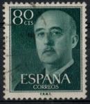 Sellos del Mundo : Europa : España : ESPAÑA_SCOTT 824.01 GEN. FRANCO. $0,2