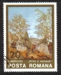 Sellos del Mundo : Europa : Rumania : Rocas y Abedules
