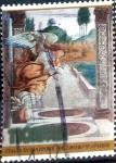 Stamps Japan -  Scott#2766 intercambio, 0,75 usd, 110 y. 2001
