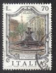 Sellos del Mundo : Europa : Italia : Fountains- Milano