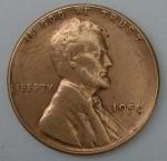 monedas de America - Estados Unidos -  1956 one cent