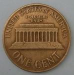 monedas del Mundo : America : Estados_Unidos :  1960 - one cent