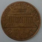 monedas de America - Estados Unidos -  1961 one cent
