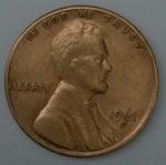 monedas del Mundo : America : Estados_Unidos :  1961 - D one cent