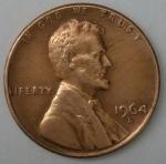 monedas de America - Estados Unidos -  1964 - D one cent