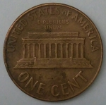 monedas de America - Estados Unidos -  1965 - one cent