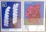 Sellos del Mundo : Asia : Japón : Scott#Z272a intercambio, 1,75 usd, 2x80 y. 1999
