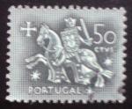 Sellos del Mundo : America : Portugal : Caballero medieval