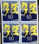 Stamps : Asia : Japan :  Scott#2463x4 intercambio, 1,40 usd, 4x50 y. 1995