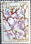 Stamps : Asia : Japan :  Scott#3203 intercambio, 0,90 usd, 80 y. 2010
