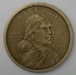 monedas de America - Estados Unidos -  2000 - D 1 dollar