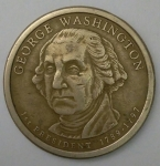 monedas de America - Estados Unidos -  2007 - 1 dolar