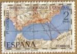 Sellos del Mundo : Europa : España : Union Geodesica Argelia-España