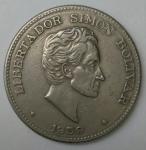 monedas de America - Colombia -  1959 - 50 centavos