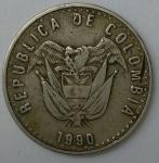 monedas de America - Colombia -  1990 - 50 pesos
