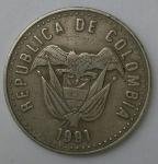 monedas de America - Colombia -  1991 - 50 pesos