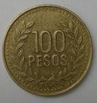 monedas de America - Colombia -  2011 - 100 pesos