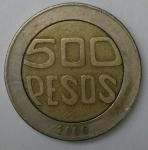 monedas de America - Colombia -  2006 - 500 pesos
