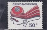 Sellos de Europa - Checoslovaquia -  avion