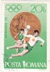 Sellos de Europa - Rumania -  Olimpiada Munlch.72