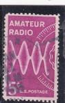 Stamps United States -  radio amateur