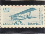 Sellos de America - Chile -  aeronaves con historia