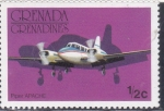 Stamps Grenada -  Piper Apache