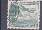 Sellos del Mundo : America : Chile : linea aérea nacional