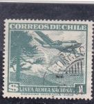 Stamps : America : Chile :  linea aérea nacional