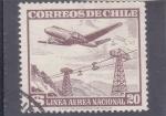 Stamps Chile -  linea aérea nacional