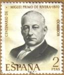 Sellos del Mundo : Europa : España : Centenario Nacimiento MIGUEL PRIMO DE RIVERA